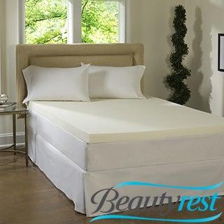 Beautyrest 4-inch Memory Foam Mattress Topper