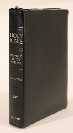 Holy Bible: New King James Version, The Scofield Study Bible III, Zipper Duradera Black (Hardcover)