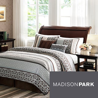 Madison Park Harvard 5-piece Coverlet Set