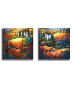Tuscan Sunrays Canvas Art Collection by O'Toole