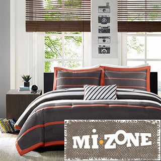 Mi Zone Jonah Striped 4-piece Comforter Set