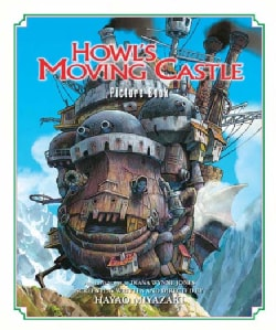Howls Moving Castle Picture Book (Hardcover)