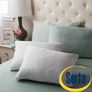 Serta Gel Memory Foam Micro-Cushion Pillow (Set of 2)