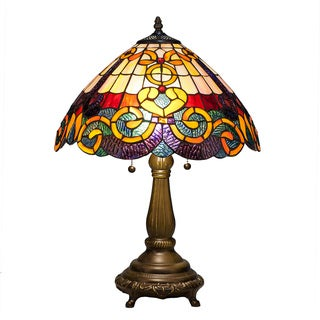 Baroque Tiffany Style Table Lamp