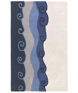 (5' x 8') Hand-tufted Malibu Wool Rug