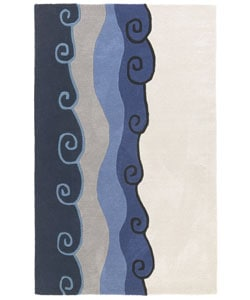 Hand-tufted Malibu Wool Rug (8' x 11')