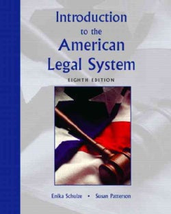 Introduction To The American Legal System (Paperback)