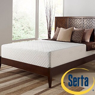 Serta Deluxe 12-inch California King-size Memory Foam Mattress
