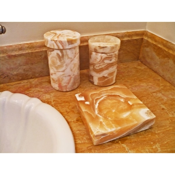 Alabaster Bath Accents (Egypt)