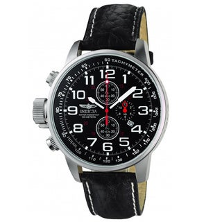 Invicta Men's Terra Military Chrono Leather Watch