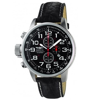 Invicta Men's 2770 Terra Military Chrono Leather Watch