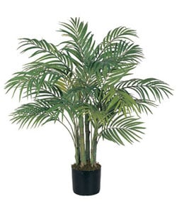 Areca 3-foot Silk Palm Tree