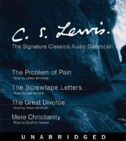 The problem of pain the screwtape letters the great orce cd audio