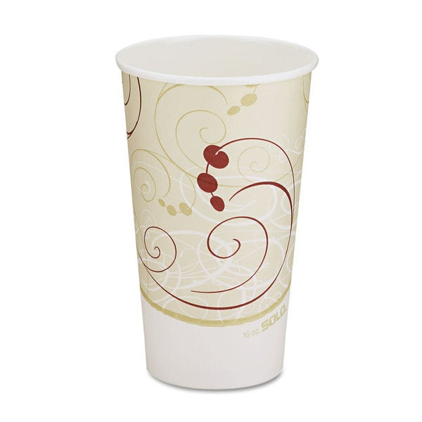 SOLO Symphony Design Hot 16 oz. Drink Cups (Case of 1,000) 26245664