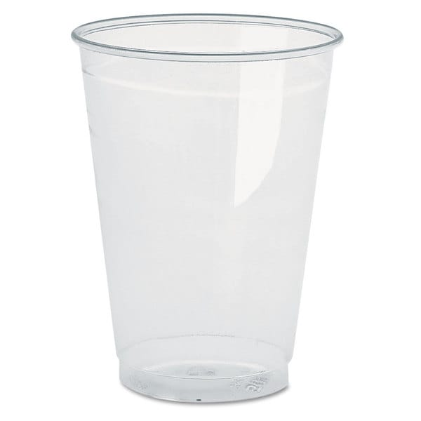 Pactiv Clear Plastic PETE Cups, 16oz, 70/Bag, 10 Bags/Carton 26245671
