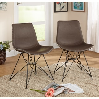 Simple Living Orleans Mid-Century Chair (Set of 2)