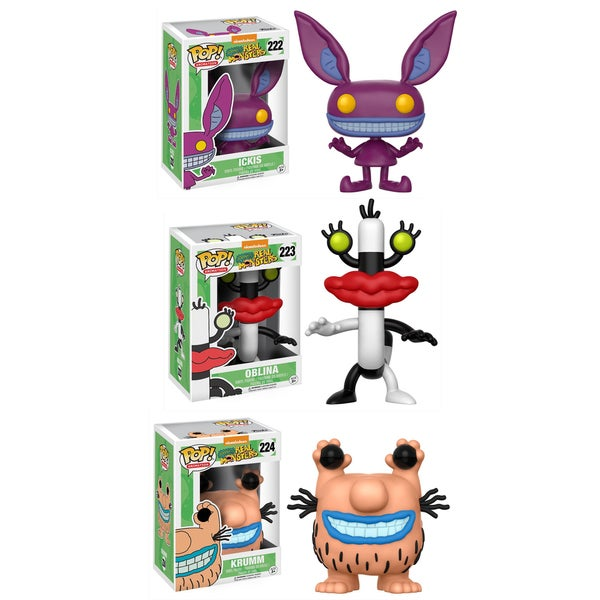 Funko Animation POP! Aaahh!!! Real Monsters Collectors Set; Ickis, Oblina, Krumm 26283122