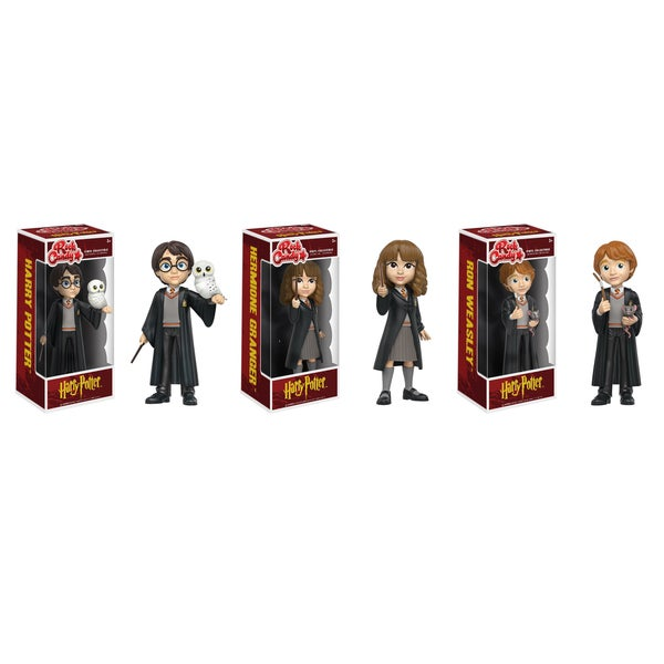 Funko Rock Candy Harry Potter Collectors Set: Harry Potter, Hermione Granger, Ron Weasley 26283125