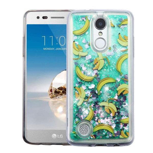 Insten Green Banana Hard Snap-on Glitter Case Cover For LG Aristo/ Fortune/ K8 (2017)/ LV3/ Phoenix 3 26291402