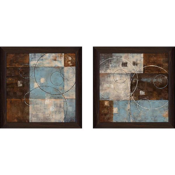 """Double Vision II"" Wall Art Set of 2, Matching Set 26301575"