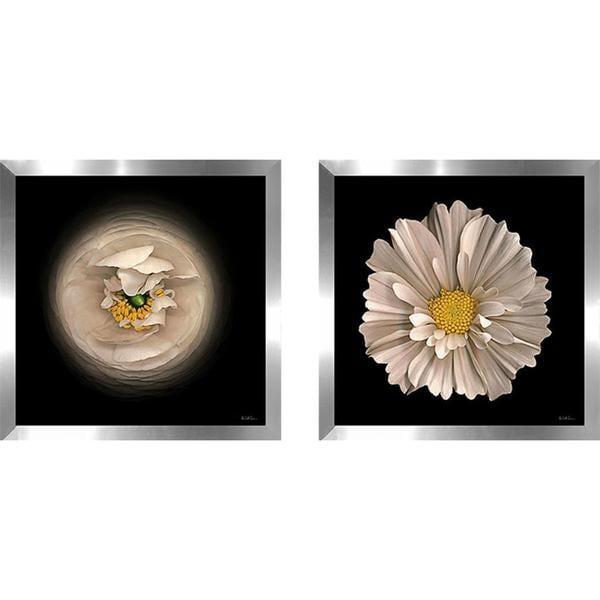 """Cosmos 7"" Wall Art Set of 2, Matching Set 26301591"