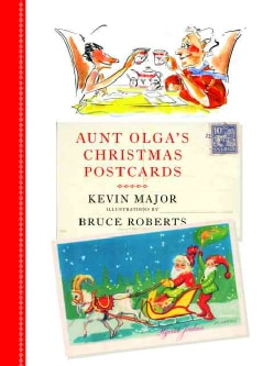 Aunt Olga's Christmas Postcards (Hardcover)