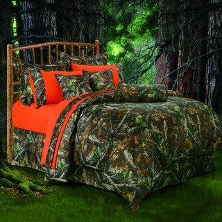 HiEnd Accents Oak Camo Comforter Set