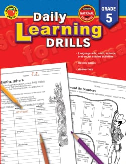 Daily Learning Drills: Grade 5 (Paperback)