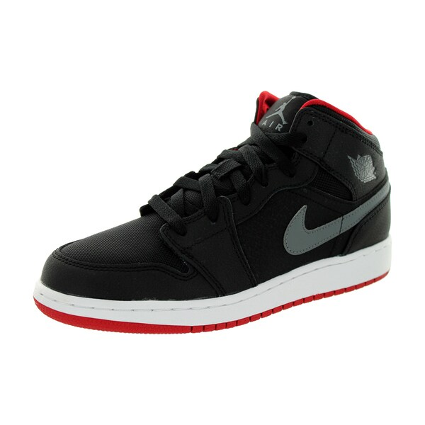 Nike Jordan Kids Air Jordan 1 Mid Bg Basketball Shoe 5.5 Kids US 26372892
