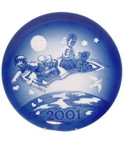 2001 Royal Copenhagen Millennium Plate