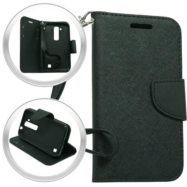 (XL) LG Stylo 2 LS775 Wallet Pouch Black 26404487