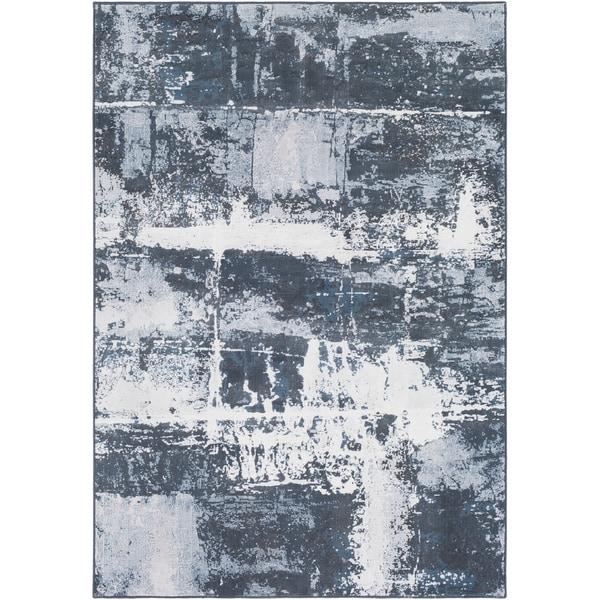 "Abstract Modern Contemporary Grey-(7'10"" x 10') 26405106"