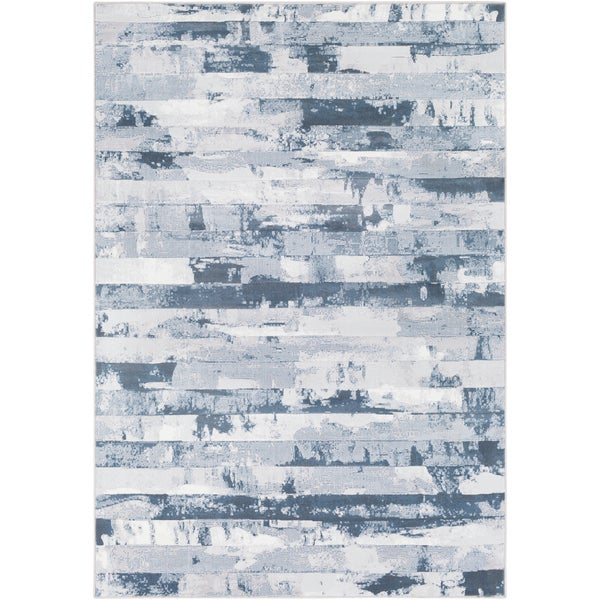Abstract Modern Contemporary Grey (7'10 x 10') 26405340