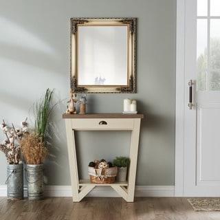 Furniture of America Shia Contemporary Oak Single-drawer Console Table