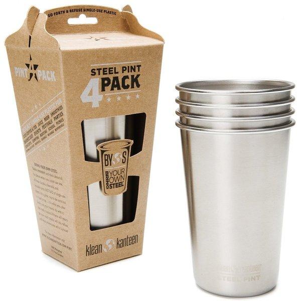 Steel Pint Cup 4 Pack 26412219