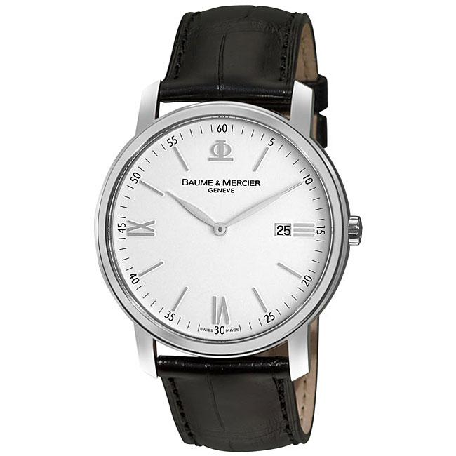 Baume & Mercier Men's MOA08485 Classima Stainless Steel Watch