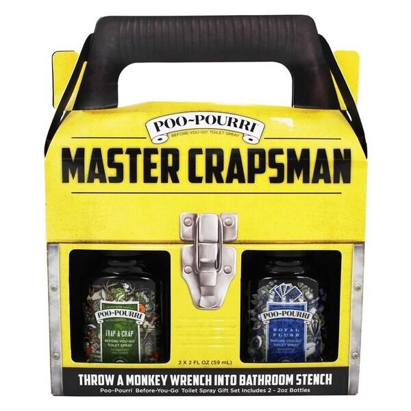 Poo-Pourri Master Crapsman Odor Eliminator Set 26497313
