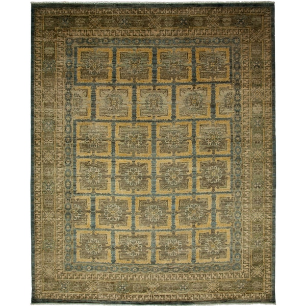 Uyadameih Hand-knotted Area Rug (8'1 x 9'9) 26515602