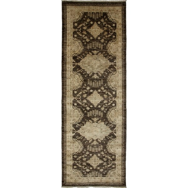 """Tabanjan Hand Knotted Runner (2'9"""" X 8'1"""") 26515604"""