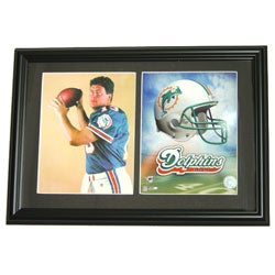 Miami Dolphins Dan Marino Double Photo Frame