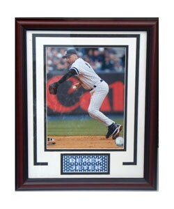 New York Yankees Derek Jeter Deluxe Framed Photograph