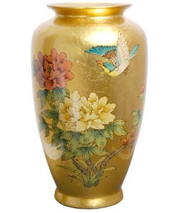 Gold Tung Chi Porcelain Vase (China)