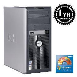 Dell GX620 Pentium D 2G 400GB DVDRW XP Tower (Refurbished)