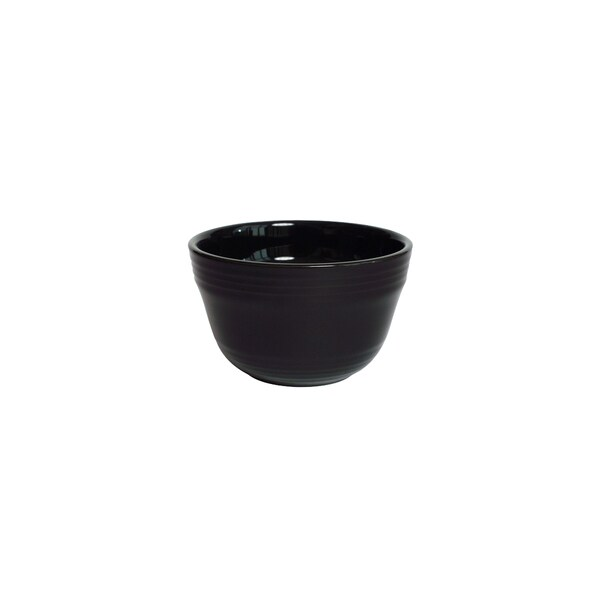 Tuxton Home Concentrix Bouillon Cup 7  oz Black - Set of 4 26613122