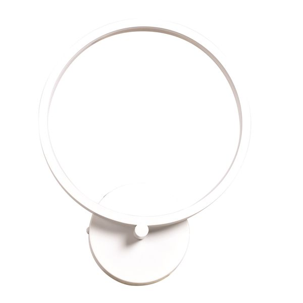 Access Lighting Eternal Circular LED White Wall Fixture with Acrylic Lens Glass Shade 26701558
