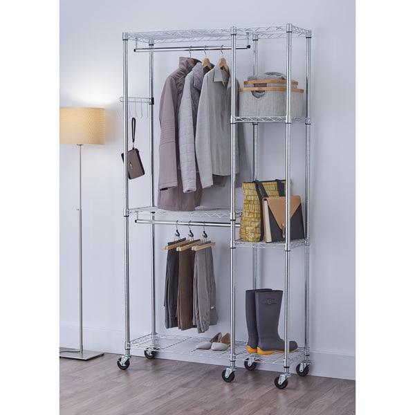 TRINITY EcoStorage Mobile Closet Organizer