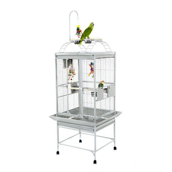 "A & E Cage Co.  24 x 22 Play Top Bird Cage with 5/8"" Bar Spacing 26723031"