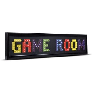 American Art Decor Game Room Framed LED Lights Man Cave Wall Decor