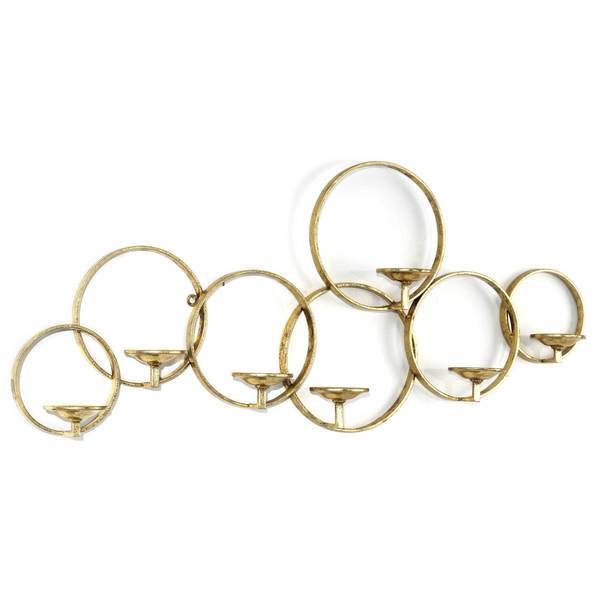 Gild Design House Lonan Gold Metal Candle Holder 26732606