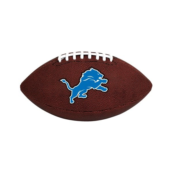 Detroit Lions NFL Official Size Game Time Football 26735277